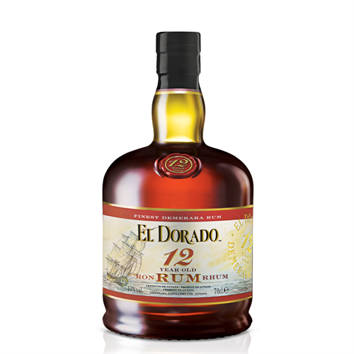 12 YEARS OLD - RUM - EL DORADO